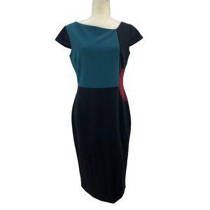 Raoul Bree Dress Body Contoured Black Size 6